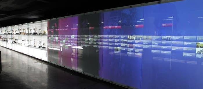 W muzeum można zapoznać się z historią klubu i poznać wartości 85f67e1af14