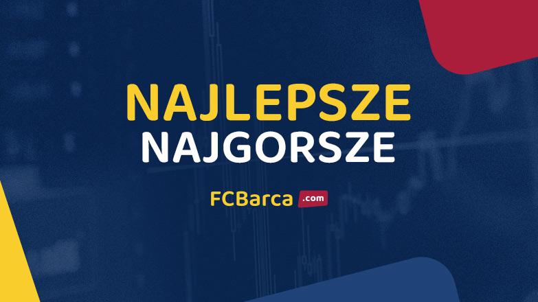Levante – Barcelona: najlepsze, najgorsze wg FCBarca.com